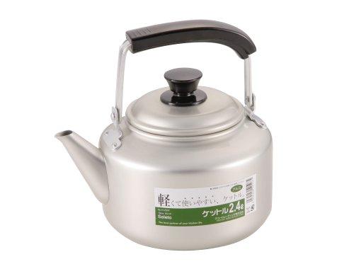 Wasserkocher Japan (Wako Handels Neue Sicherheits lassen Aluminium Wasserkocher 2,4 l H-2507 (Japan Import / Das Paket und das Handbuch werden in Japanisch))