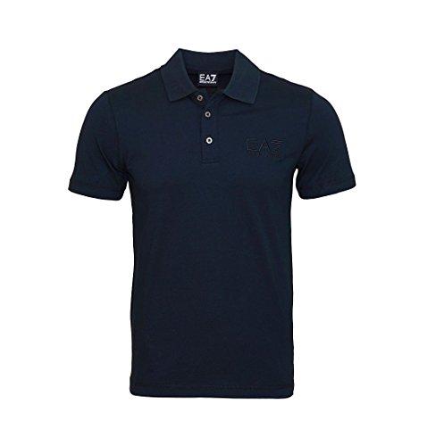 EA7 EMPORIO ARMANI Shirt Polohemd Poloshirt Polo navy 8NPF01 PJ48Z 1578 Blu Notte HW16 Größe L