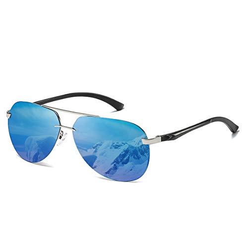 CHEREEKI Gafas de sol, Retro Gafas de Sol Polarizadas Aviador Para Hombre y Para...
