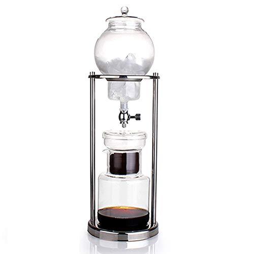 HYKJ Japanische EIS Tropfen Kaffeekanne Haus Glas Kaffeekanne Tropfen-Leck EIS gebraut kalten Extrakt Kaffee Geräte