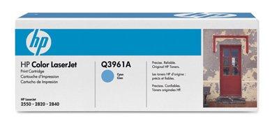 122A, für Color LaserJet 2550 L Premium Drucker-Kartusche, Cyan, 4000 Seiten ()