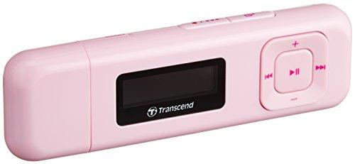 Transcend TS8GMP330P Lecteur/Baladeur MP3 8 Go Rose