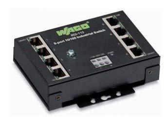 Wago 8-Port Industrial Eco Switch, 852-112