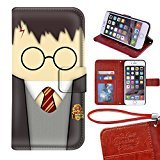 Onelee(TM) - Customized Harry Potter Marauders Map TPU Case Cover for Apple iPhone 6 - Black 09