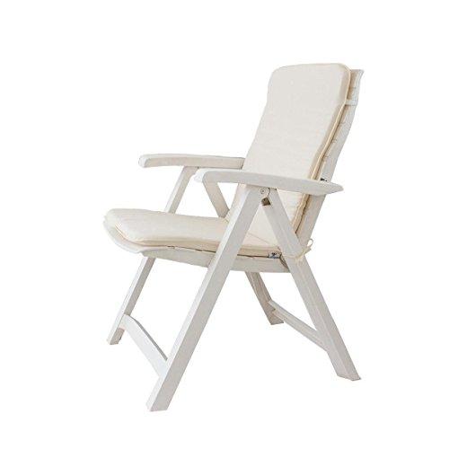 Sedie Sdraio Da Esterno.Cuscino Copri Sedia Sdraio Da Giardino 45x90 Cm Unito Mod Relax