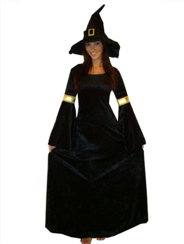Imagen de maylynn  disfraz de bruja para mujer, talla s 10928 s