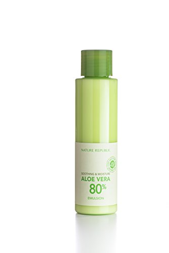 Nature Republic Soothing & Moisture Aloe Vera 80% Emulsion, 160 Gram (Skinfood Bb Cream)