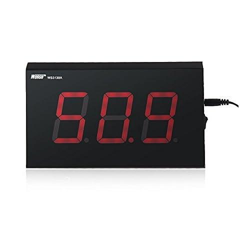 'Koolertron 5,8cm Compteur numérique LCD Niveau sonore 30~ 130dB Decibel mesure de bruit