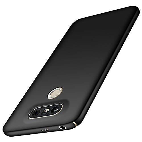 Anccer LG G5 Hülle, [Bunte Serie] [Ultra dünn] Ultimative Schutz vor Stürzen und Stößen - [Luxurious Look] Schutzhülle für LG G5 Case, LG G5 Cover (Glattes Schwarzes)