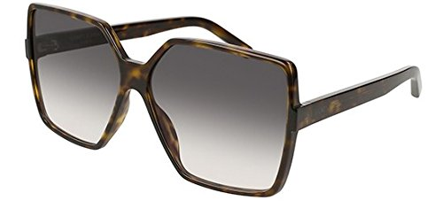 Saint Laurent Sonnenbrillen BETTY SL 232 DARK HAVANA/GREY SHADED Damenbrillen