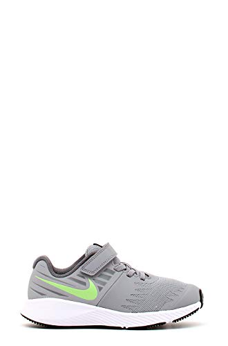 Nike Jungen Star Runner (PSV) Leichtathletikschuhe, Mehrfarbig (Wolf Lime Blast/Cool Grey 008), 32 EU