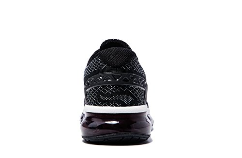 Onemix Homme Air Baskets Course Gym Fitness Sport Chaussures Noir blanc