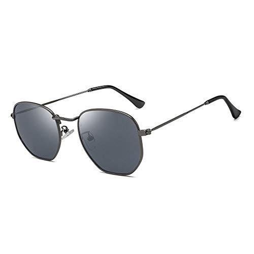 Easy Go Shopping Frauen HD True Color Film Sonnenbrille Bunte Sonnenbrille Brille Polarisierte Sonnenbrille Sonnenbrillen und Flacher Spiegel (Color : 02 schwarz, Size : Kostenlos)