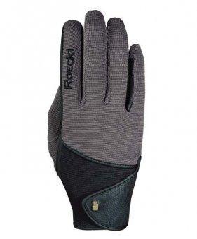 Roeckl Sports Handschuh Madison, Unisex Reithandschuh, Walnuß 7,5