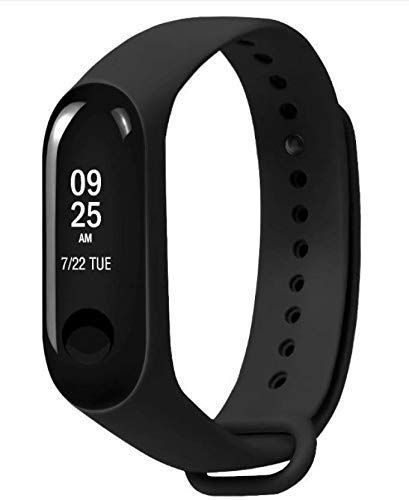 Dronean MR-81 Bluetooth V4.1 Smart Fitness Wristband with Heart Rate Monitor,Blood Pressure,Pedometer,Sake Photo Compatible with All Android,iOS & Window Device (Random Colour)