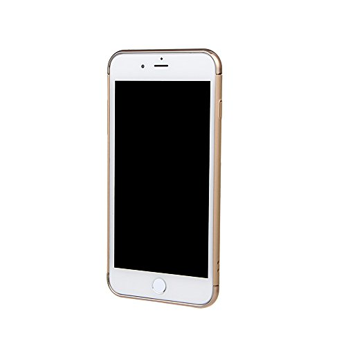 """xhorizon TM FM8 3 in 1 Ultra Thin Hard Protective Stylish Case Case for iPhone 7 Plus [5.5""""] with 360 Degree Rotating Ring Kickstand with a 9H Tempered Glass Film golden+9H Tempered Glass Film"""