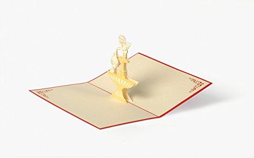 DIESE-KLAPPKARTEN® EVENTI - Carta di Pop-up 3D | Taglio Laser | Vari motivi | Fatto a mano | Saluto | Compleanno | Recupero | Buono anniversario | Ringraziamento, Klappkarten Kategorien:C09 / Baptism