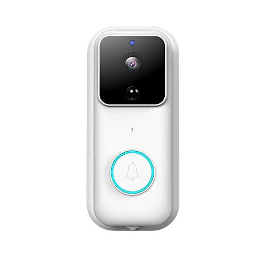 Intelligentes Zuhause,TwoCC Türklingel Smart WIFI Video Türklingel 1080P HD Wifi Sicherheit Kamera Nacht Vision -