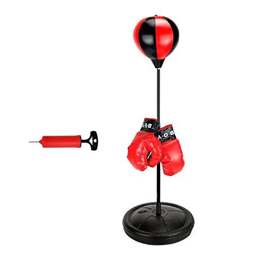 TwoCC Sportboxset Boxsack mit Handschuhen - Boxball für Kinder Verstellbar