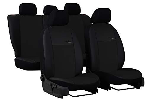 POK-TER-TUNING Autositzbezüge maßgefertigt für 2 Active Tourer ab 2014 .Individuell gefertigt.Stoffart Kunstleder Schwarz in 7 Lamellen Farben.Design Eco line (Schwarzer Lamelle)