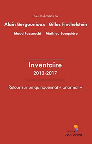 Inventaire 2012-2017
