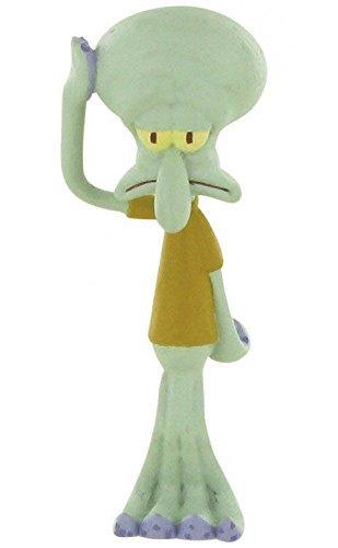 Comansi Y99094. Figura Pvc. Serie Bob Esponja. Calamardo. 8 cm