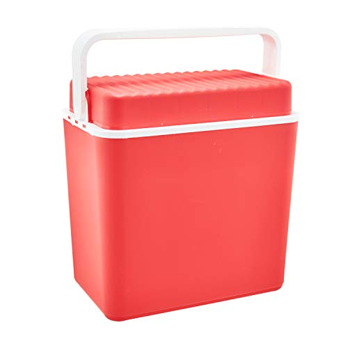 T.I.P. Tip Kühlbox   24 Liter   rot   für Flaschen bi…   04335718159174