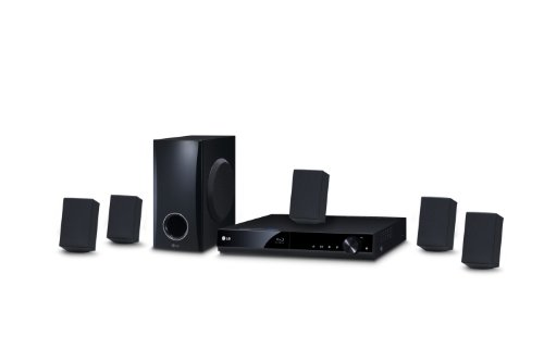 LG BH4030S - Equipo de Home Cinema 5.1 (Blu-Ray 3D, 330 W, 1 USB, 1 HDMI), color negro