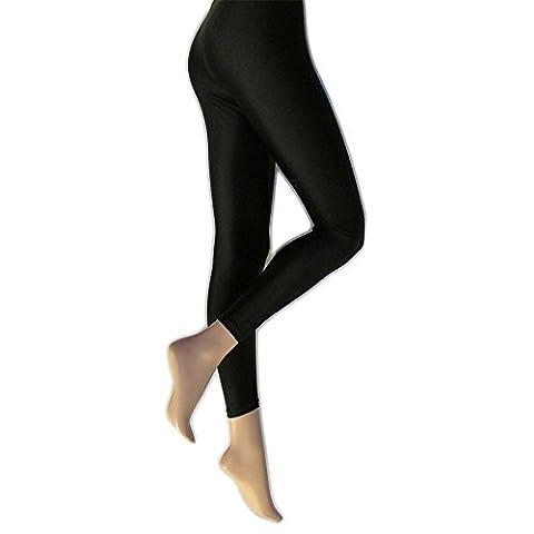 Silky - Leggings - Femme (X-Large) (Noir)