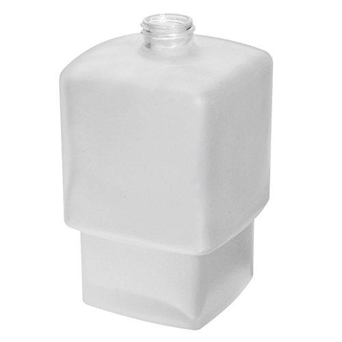 Emco dispensador de jabón líquido Depósito Loft Cristal sin Bomba, 1pieza, transparente, 052100090