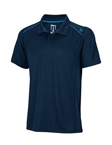 Wilson Tennis M Nvision Elite Polo-Maglietta Polo da uomo 642c6ca13746