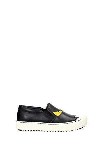 zapatillas-fendi-mujer-piel-negro-blanco-y-amarillo-8e51104ruf0700-negro-365eu