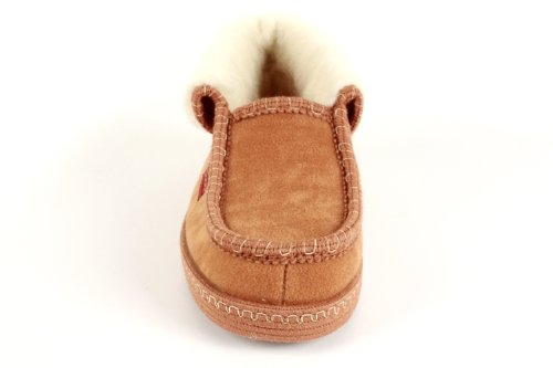 27902 - Andres Machado - Hausschuhe Knöchelhoch. Futter aus Lammwolle - Made in Spain Camel