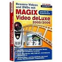 Bessere Videos und DVDs mit Magix Video deLuxe 2005/2006
