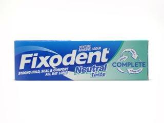 Fixodent - Haftcreme Für Zahnersatz Drei Packungen - Neutraler Geschmack