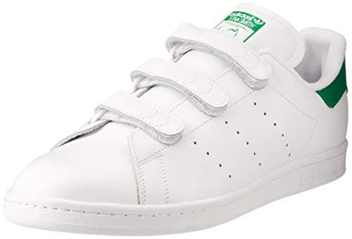 adidas - Stan Smith Cf, Scarpe da corsa Uomo, Bianco (Blanc (Ftwr White/Ftwr White/Green)), 39 1/3 EU