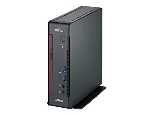 Fujitsu ESPRIMO Q558 - Mini-PC - i3 8100 - 8 GB RAM - 128 GB SSD - DVDRW - inkl. Maus, inkl. Tastatur