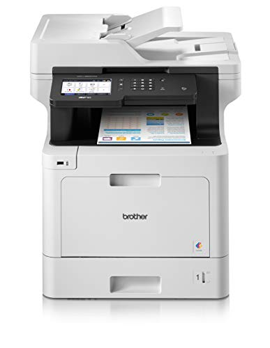 Brother MFC-L8900CDW  Imprimante Multifonction professionnel 4 en 1 | A4 | Connecté & flexible | Couleur | Wi-Fi & Ethernet Gigabit