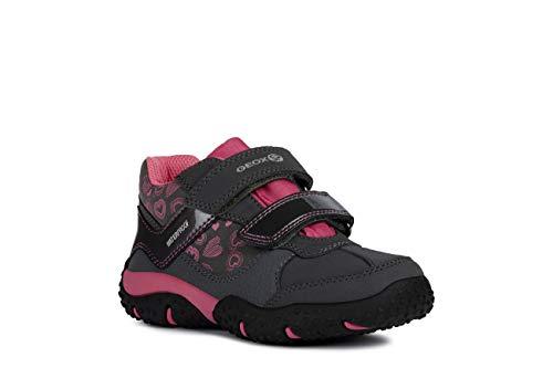 Geox Niñas mínimo Baltic Girl WPF, Chica Zapatillas,Zapato bajo,Calzado Deportivo,Zapato de Velcro,Cierre...