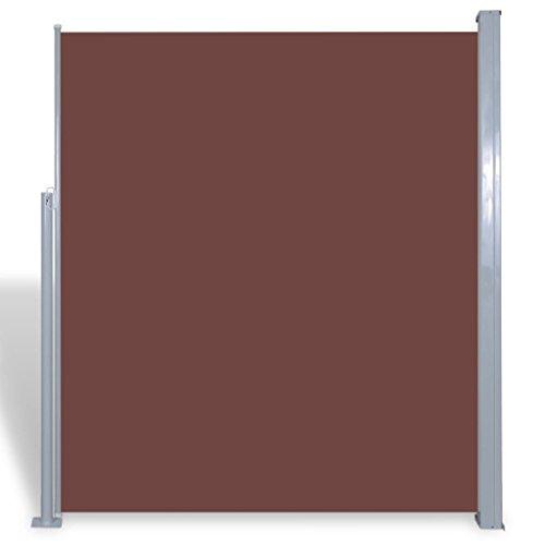 FZYHFA tendalino Lateral para Patio terraza 180x 300cm marrón Vel
