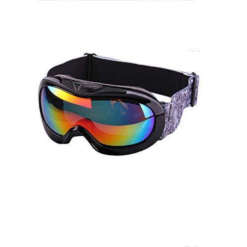 WDXGZY Kinder-Sonnenbrille für Kinder Spezial Ski einlagig Anti-Fog Okular D