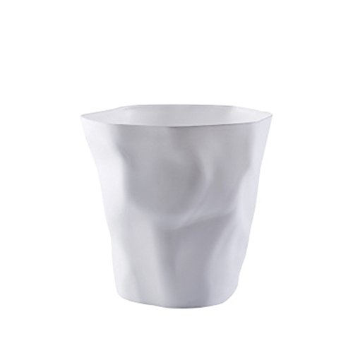 Demarkt Abfalleimer Papierkorb Küche Mülltonne Zimmer Müll Eimer Weiss