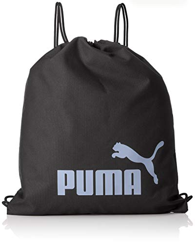 Puma phase gym sack, sacca sportiva unisex adulto, nero black/sweet lavender, taglia unica