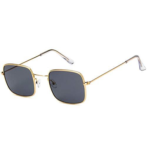 WZYMNTYJ Frauen Markendesigner Quadrat Sonnenbrille Männer Vintage Retro Sonnenbrille Damen Klare Linse Eyewears