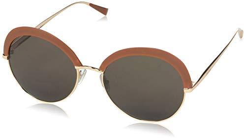 Max mara mm ilde ii 8h 0v3, occhiali da sole donna, marrone (brown rose gd/brown), 57