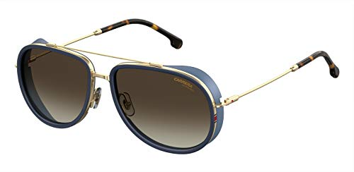 Carrera Herren 166/S Sonnenbrille, Mehrfarbig (Blue Gold), 59