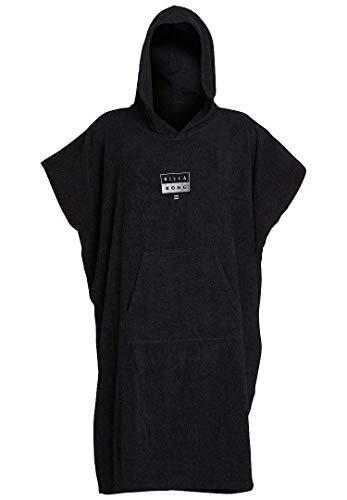 BILLABONG Mens Hooded Changing Robe/Poncho Black N4BR01