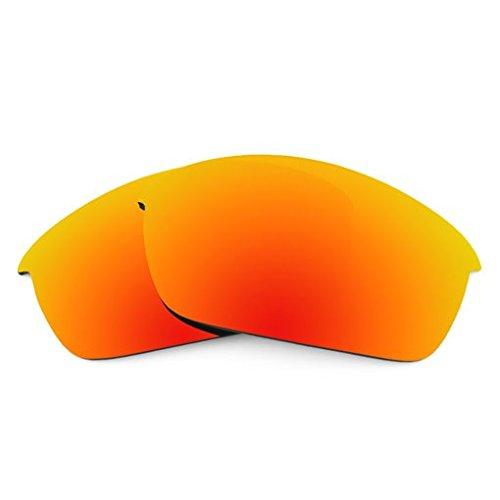 sunglasses restorer Kompatibel Ersatzgläser für Oakley Flak Jacket, Polarisierte Fire Iridium