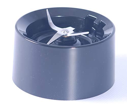 KitchenAid New Style Blender Jar Base/Halsband mit Klingen Onyx schwarz (passt neuere KSB555Modelle) (Kitchen Aid Blender, Jar)