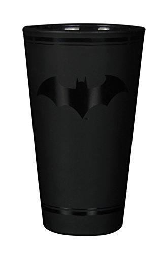 Batman Glas mit Logo DC Comics ,schwarz